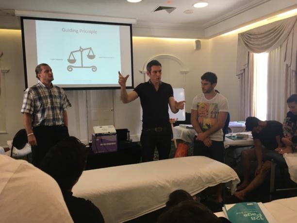Perth 2016 - Jour 6 : Chris Perkin sur les douleurs de l'aine et Merv Travers sur les problèmes tendineux