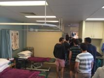 Perth 2015 - Visite d'un cabinet de physiothérapie australien
