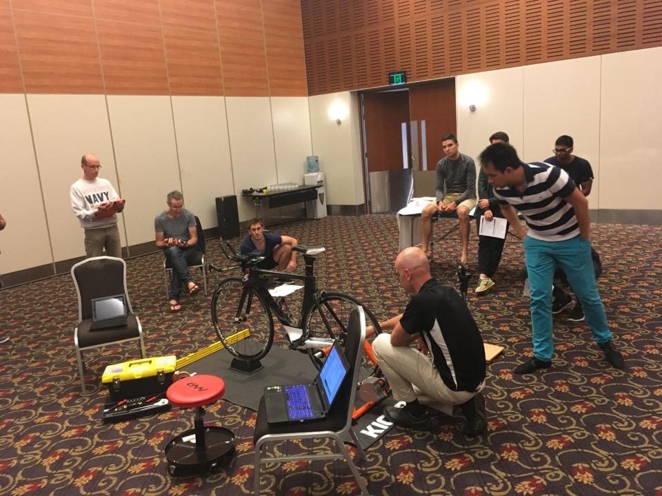 Perth 2017 Sport - Peter O'Sullivan - Nutrition - Cyclisme