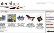 Kpten 2010-2020 - 2e projet: Créer un magasin en ligne pour distribuer des produits spécifiques KptenShop.