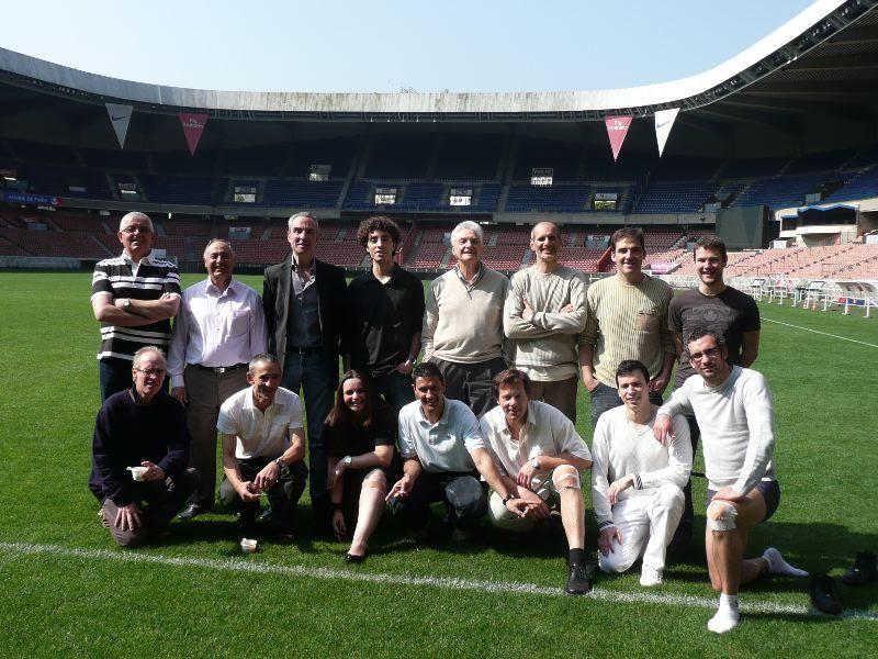 Première formation réalisée le 21 et 22 Mai 2010 au Parc des Princes de Paris