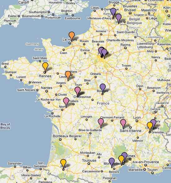 Formation ETWS-1210 réalisée les 03 et 04 Décembre 2010 à l'espace Moncassin de Paris