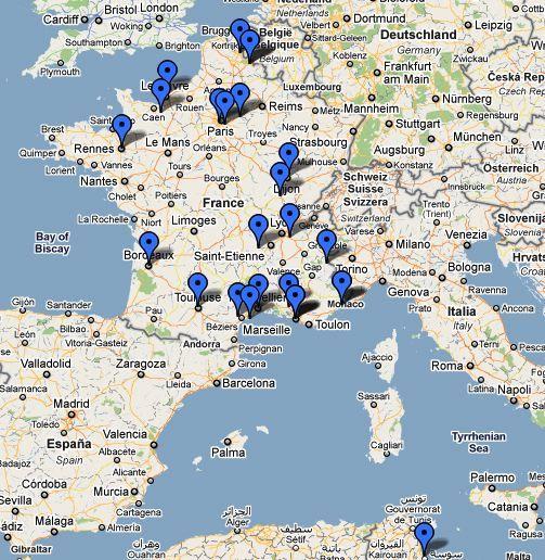 Formation NCWS-0211 réalisée les 01- 02 et 03 Février 2011 à l'IFMK de Marseille