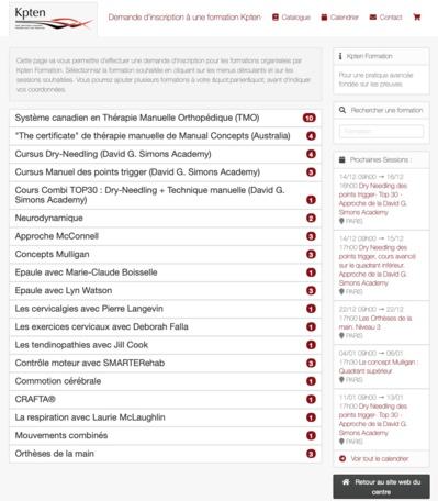 Plus de 200 inscriptions par mois sur notre nouvelle plateforme d'inscription