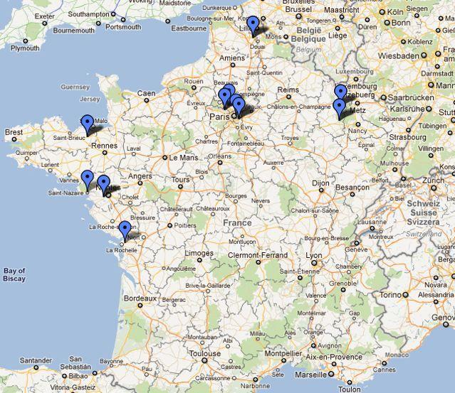 Formation TP30WS-0811 réalisée les 26-27-28 août 2011 à l'Espace Moncassin Paris
