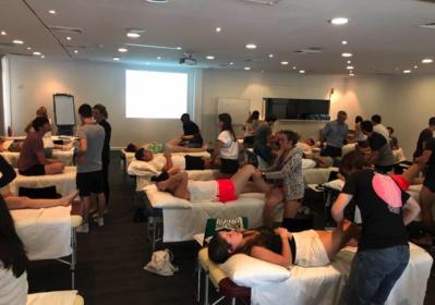 Perth 2019: des kinés au contact de spécialistes physios australiens