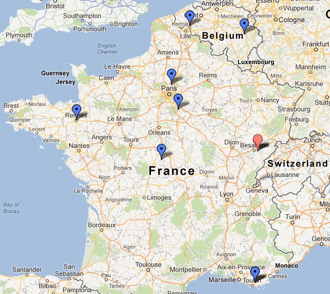 Formation NCWS-0212 réalisée les 03-04 Février 2012 à l'Espace Moncassin Paris