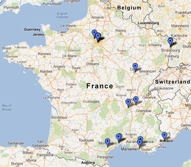 Formation HandWS-0612 réalisée le 14-15-16 Juin 2012 à l'Espace Moncassin Paris
