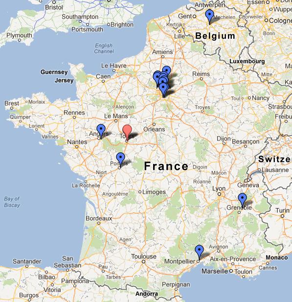 Formation RCWS-0712 réalisée les 05-06-07 Juillet 2012 à l'Espace Moncassin Paris