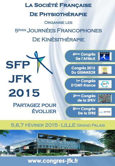 Pré-programme des JFK2015