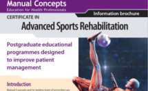 """The advanced sport rehabilitation certificate"" australien : Certificat en Réhabilitation pour le sport"