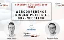 Replay de la WebConference : Trigger point et Dry-needling du 05 octobre 2018