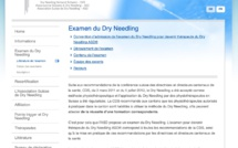Examen de l'Association Suisse de Dry-needling