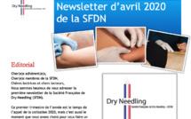 Première newsletter de la Société Française de Dry-Needling