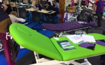Mobercas vendra les tables d'exposition à la fin du salon à des prix exceptionnels