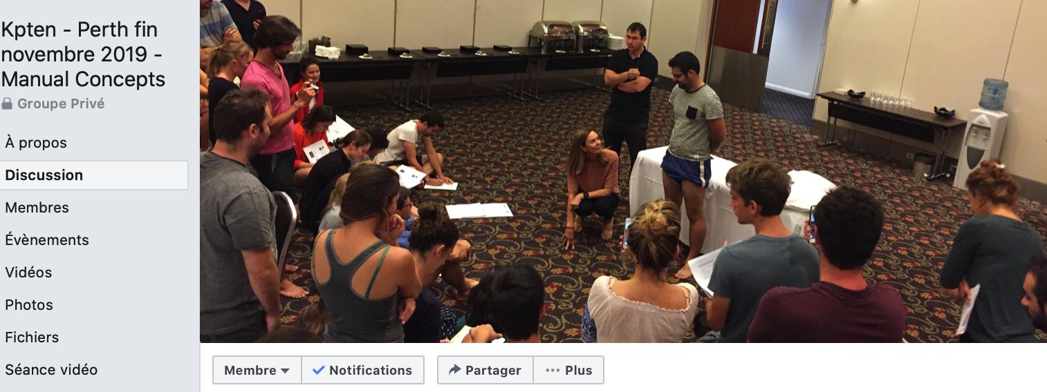 Perth formation extrémités avec Manual Concepts